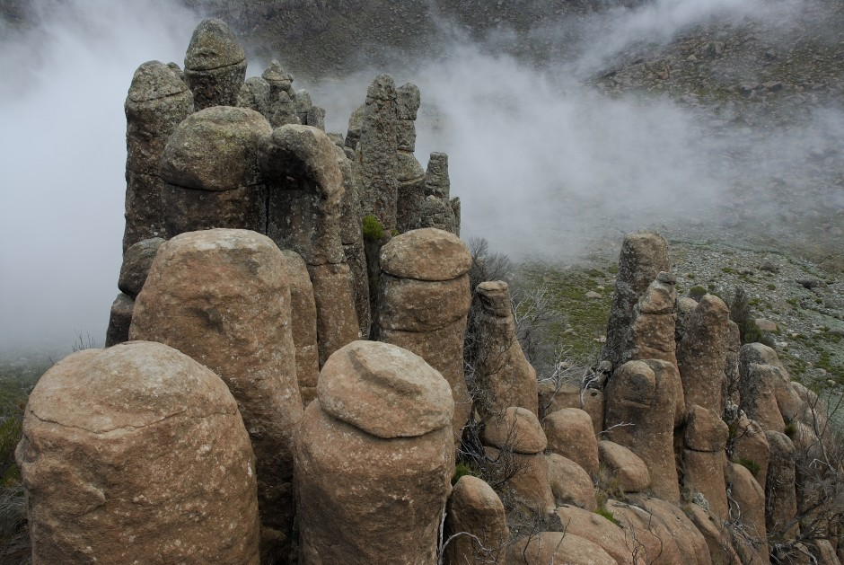 Rafu Rock Pinnacles. Photo by Delphine Ruche.