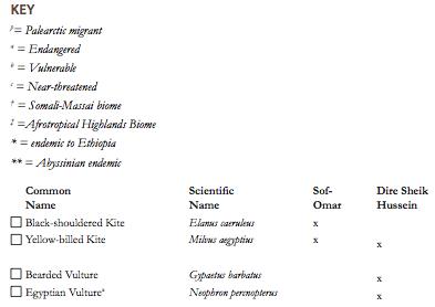 Lowlands checklist 1